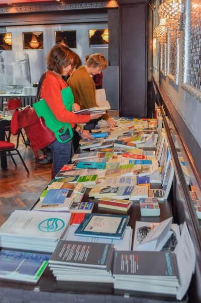 Boekentafel congres